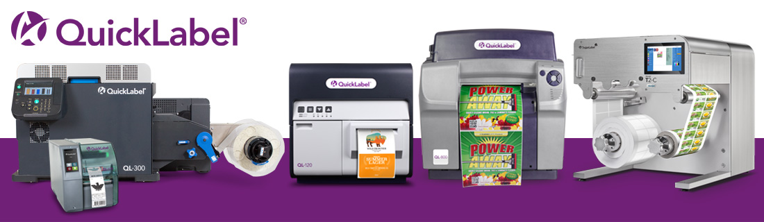 in house colour label printers that are the quicklabel range